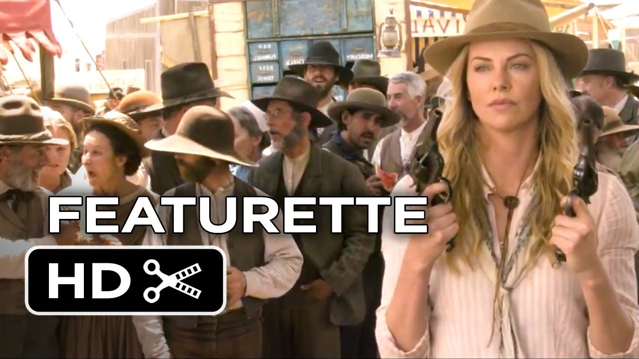 A Million Ways To Die In The West Featurette - A Look Inside (2014) - Charlize Theron Comedy HD