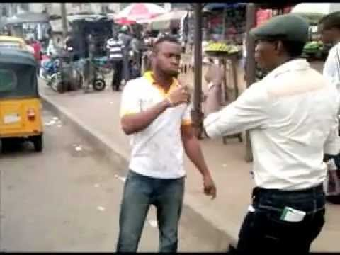Two Men Street Fighting In Nigeria!!