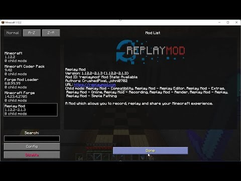 Minecraft Replay Mod Forums Help Me With Mod