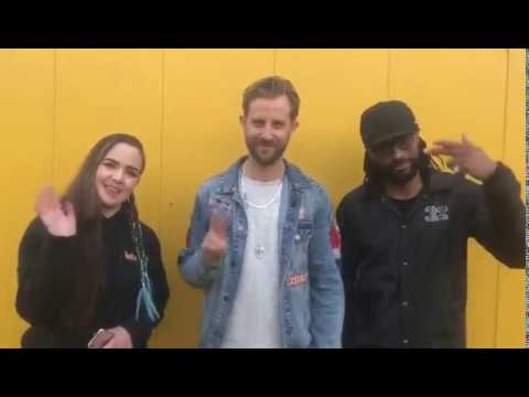 Sigma interview at Enjoy Music Festival 2018, Aberdeen