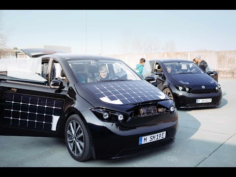 Solar Car Sion on Tour 2018 | Sono Motors