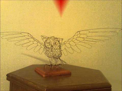 Birds!!! hand made wire sculptures