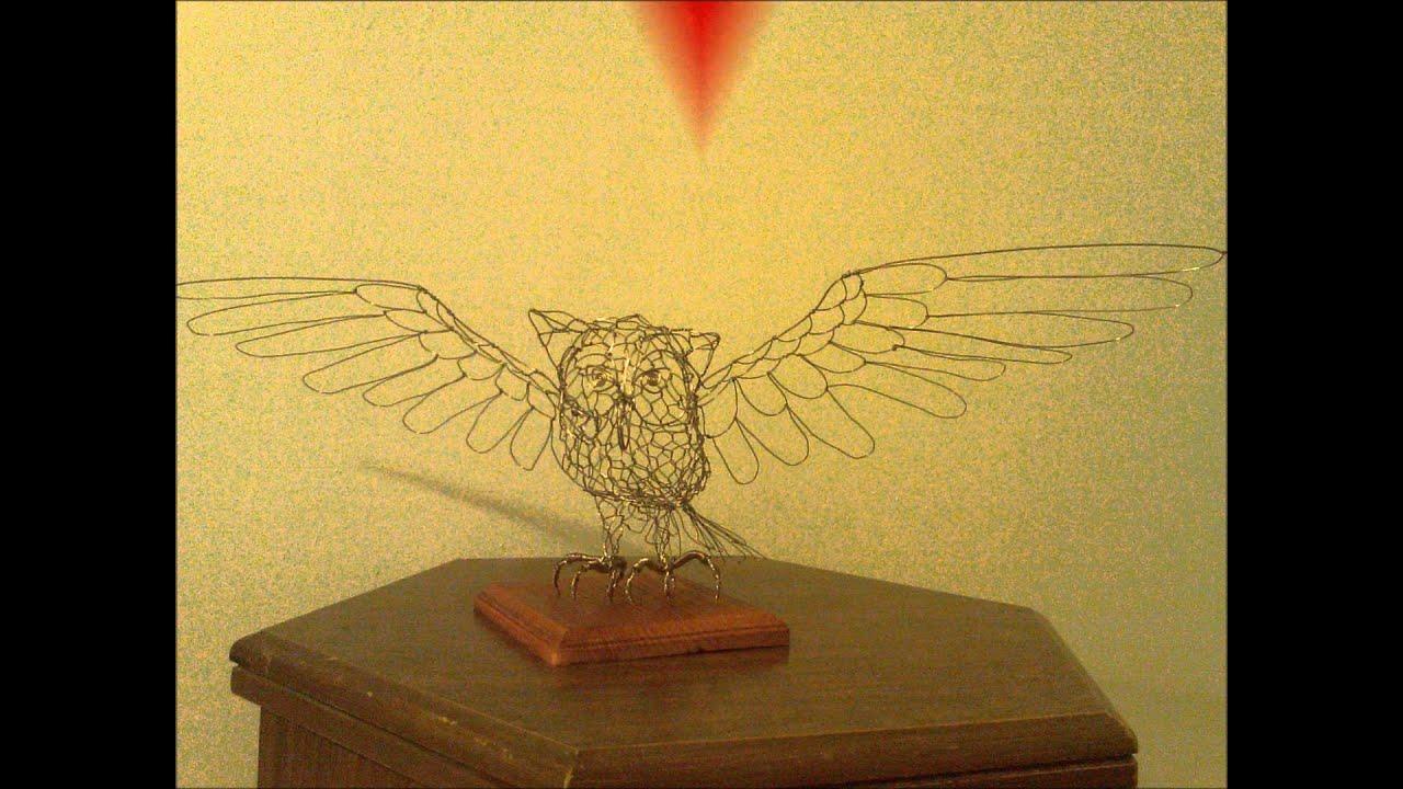 Birds Hand Made Wire Sculptures