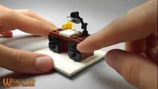 Lego Tutorial | How To Build A Desk