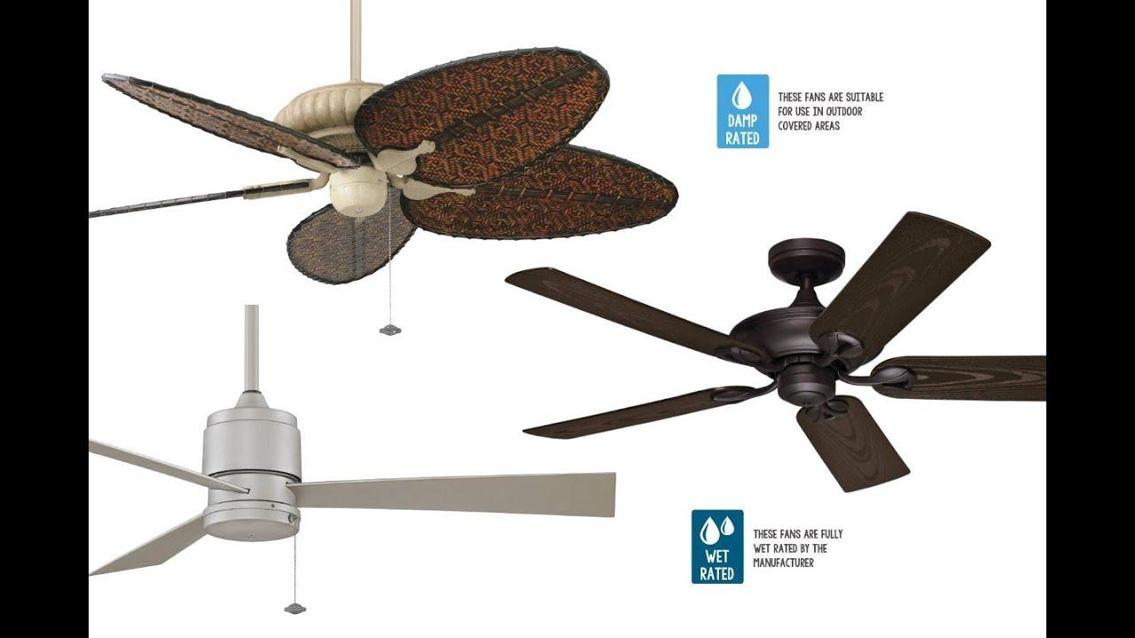 Casa bruno ventiladores para exterior outdoor - Ventiladores de pared ...