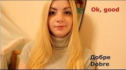 Basic Ukrainian phrases