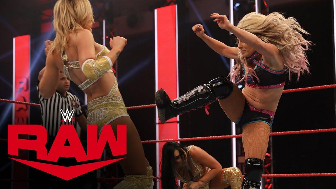 Alexa Bliss & Nikki Cross vs. The IIconics – WWE Women's Tag Team Title Match: Raw, May 18, 2020