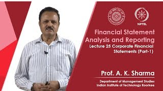 Lecture-25- Corporate Financial Statements (Part-1)