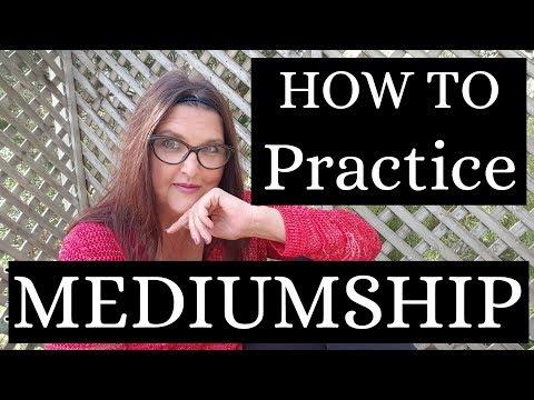 Mediumship training: How to practice mediumship with Medium Melinda Mae Miller