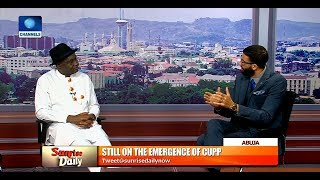 Emergence Of CUPP Nothing But Grandstanding - Magus Abe |Sunrise Daily|
