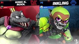 BNC Online Tourney #1   Nick/3-Stock Croc (King K. Rool) vs Adam/Random (Inkling)