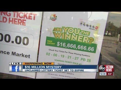 Lottery Ticket Purchase Deadline