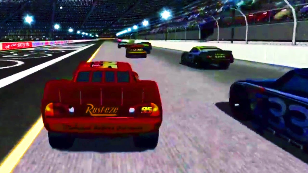 Cars 1 The Videogame Race 8 No Com Lightning Mcqueen