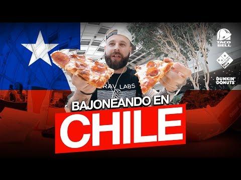 Bajoneando en CHILE - Tag del Supermercado - 3 Franquicias que no hay en Argentina