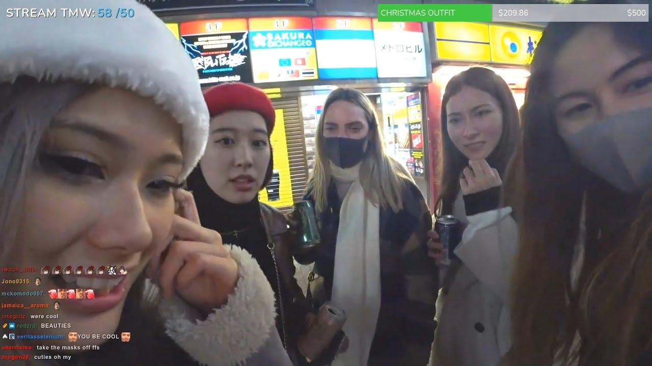 Imjasmine Random Street Encounters Girl Gang + Twitch Streamers