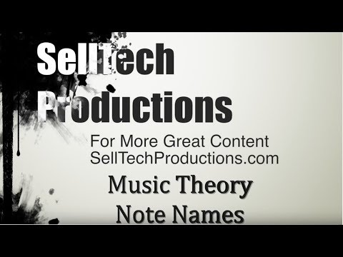 Music Theory #1 Note Names