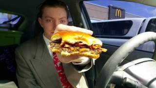 McDonald's New Signature Crafted Sweet BBQ Bacon Burger - Food Review