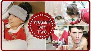 Poorly Head, Old Photos & Guinea Pigs | VLOGMAS