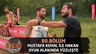 Mustafa Kemal ile Hakan oyun alanında yüzleşti! | 80.Bölüm | Survior 2018
