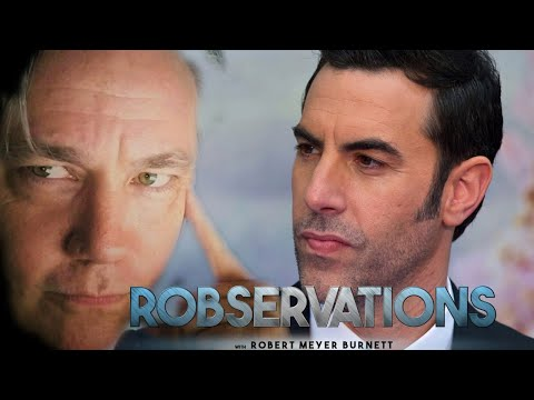 SACHA BARON COHEN RESPONDS TO ZUCKERBERG'S THOUGHTS ON FREE SPEECH. ROBSERVATIONS Live Chat #252