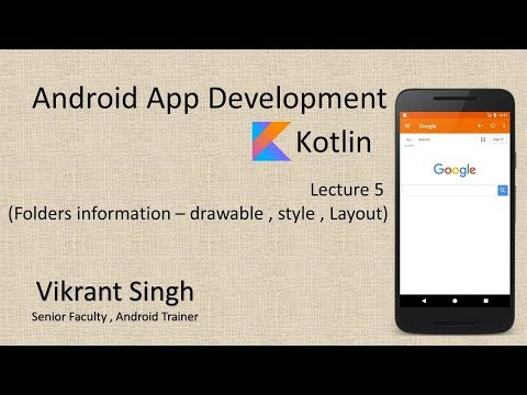 Kotlin (Lecture 5) - Full tutorial on Android App Development in hindi thumbnail