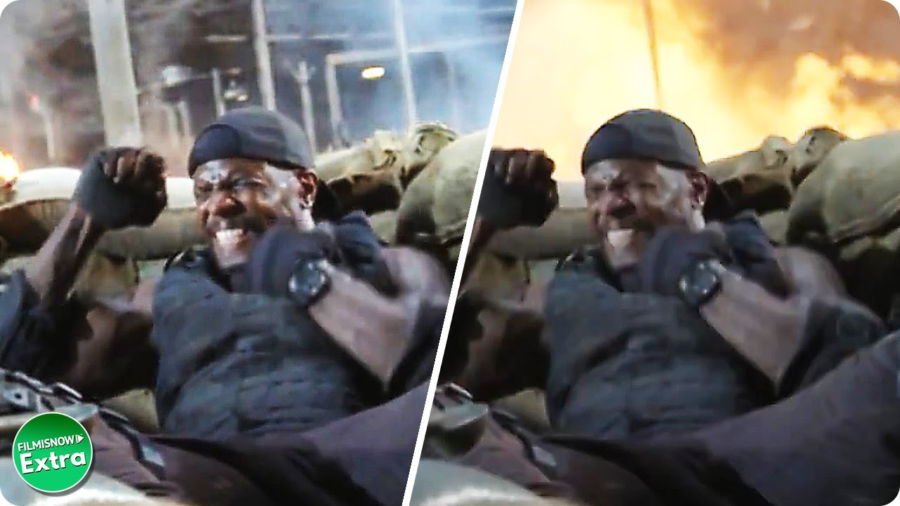 THE EXPENDABLES | VFX Breakdown by Worldwide FX (2010)