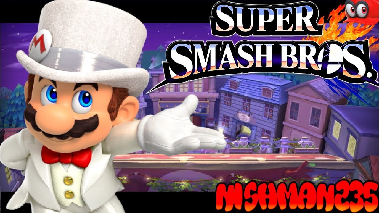 Super smash bros 4 wii u for glory 1 on 1 wedding mario for Wii u portable mod