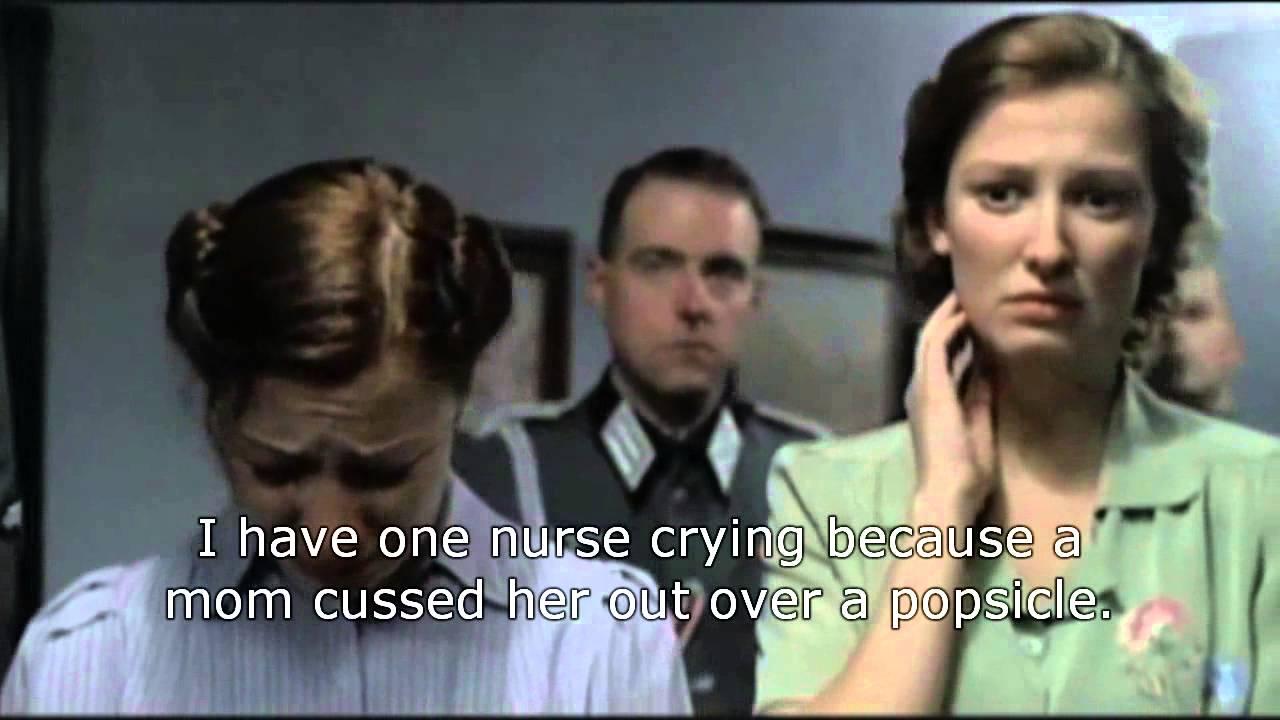 Er Nurse Meme Funny : Hitler an er charge nurse getting report from morning shift youtube