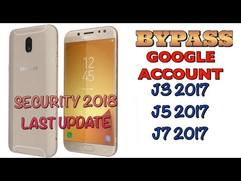 FRP 2018 SAMSUNG J3/J5/J7 2017 LAST UPDATE REMOVE GOOGLE ACCOUNT