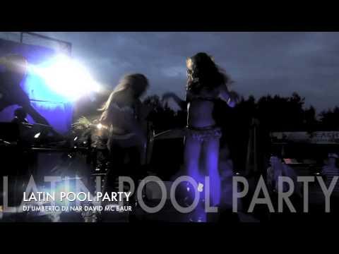latin pool party 2015( пенная вечеринка )