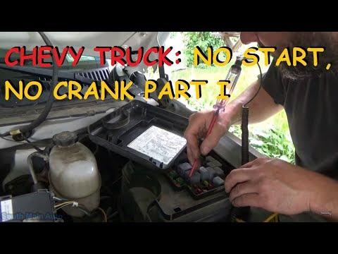 Chevrolet Truck - No Start, No Crank - Part I