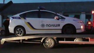 Полиция Житомира. Минус еще один патрульный автомобиль