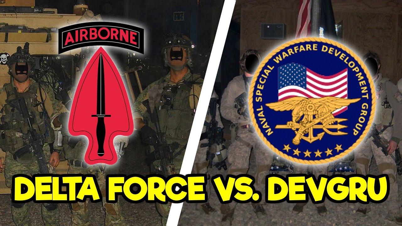 DELTA FORCE VS. DEVGRU (SEAL TEAM 6)