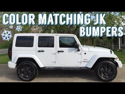 Jeep Jk Bumper Dupli Color Custom Wrap Vs Plasti Dip Challenge Youtube