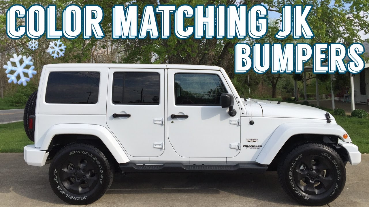 Jeep JK Bumper - Dupli Color Custom Wrap Vs Plasti Dip Challenge ...