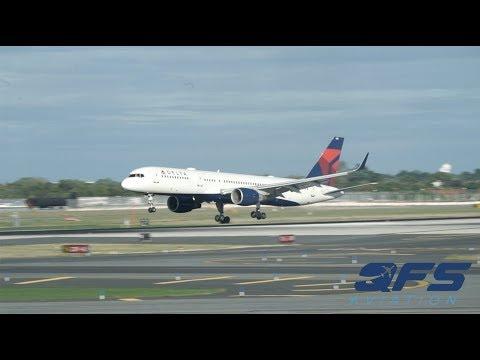 (4K) 6+ Minutes of Plane Spotting - New York John F. Kennedy Airport (KJFK)