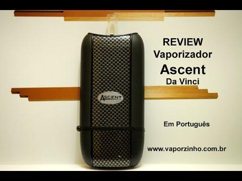 Review Vaporizador Ascent Da Vinci  Em Português