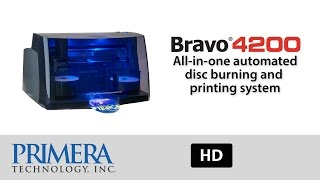Print and Burn CDs and DVDs with Bravo 4200