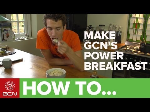 How To Make A Power Breakfast - Porridge Or Oatmeal By Simon Richardson - GCN's Food For Cycling