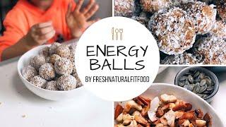 Energy Balls by freshnaturalfitfood /vegan/gesund/einfach