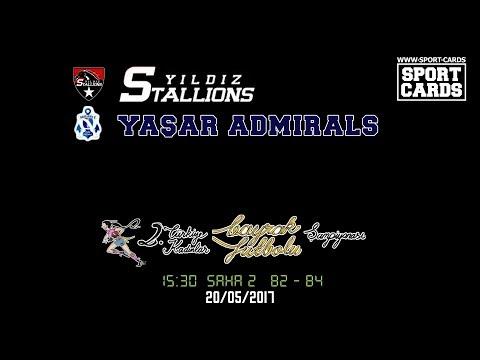 Yıldız Stallions vs Yaşar Admirals Flag Football 15:30 20/05/2017