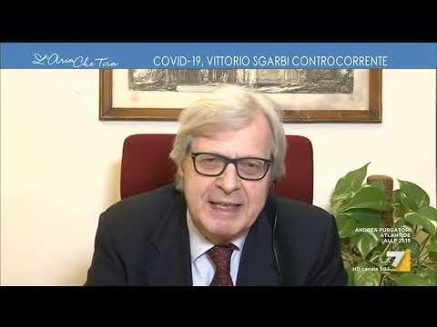 """Vittorio Sgarbi: """"Conte è fragile, sto preparando una lettera a Mattarella per i diritti ..."""