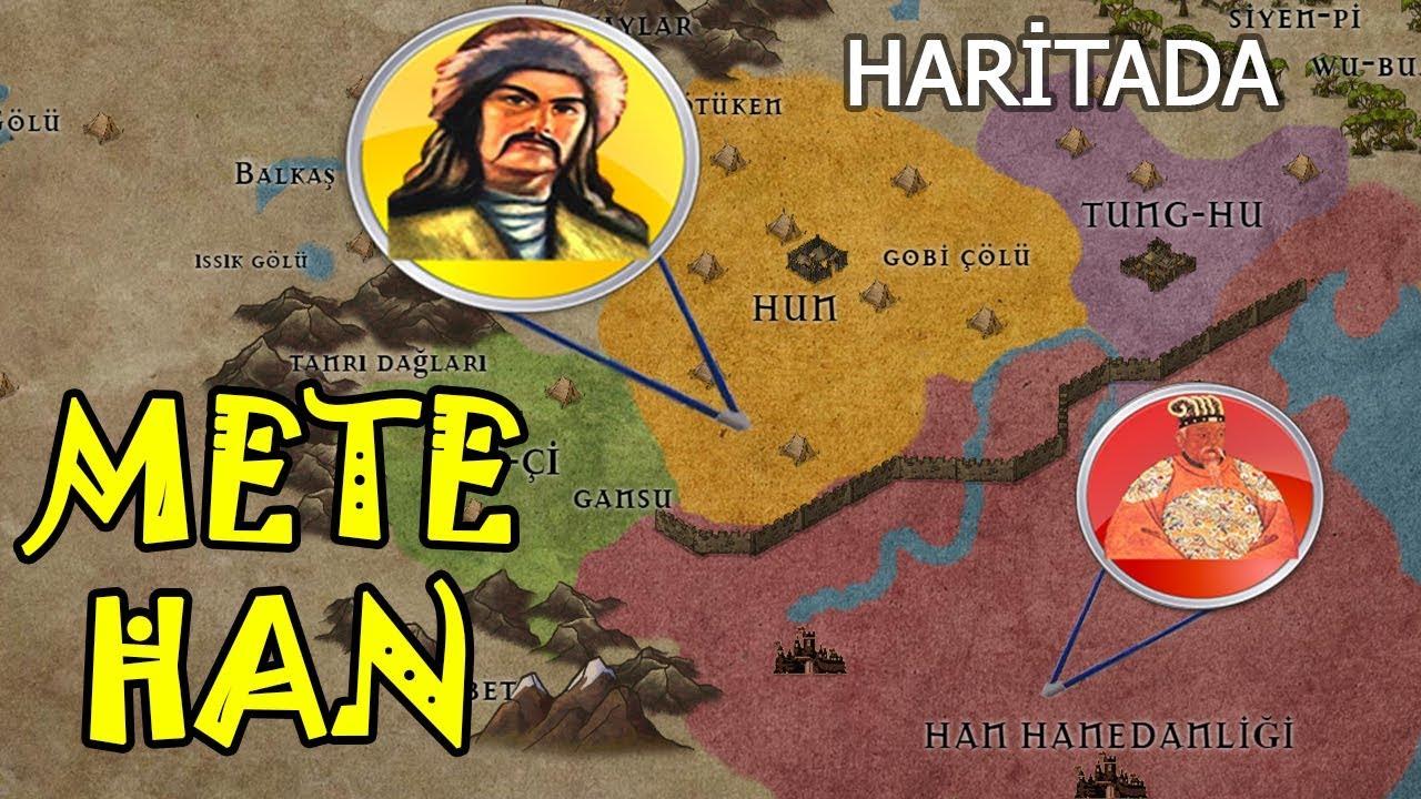METE HAN HAYATI ASYA'yı FETHİ-Haritada Anlatım-2D Savaş