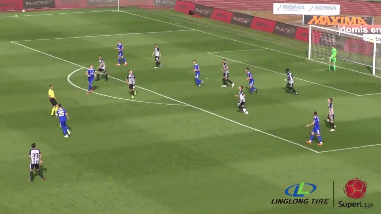 Linglong Tire Super liga 2020/21 - 37.Kolo: PARTIZAN – VOŽDOVAC 3:0 (1:0)