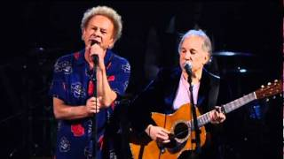 Repeat youtube video The Sounds Of Silence (Live) by Simon & Garfunkel