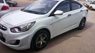 Tuning Wheels 14 Hyundai Solaris 2013 смотреть