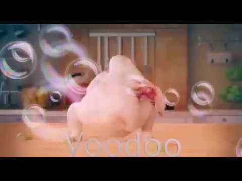 Trop drôle un poulet qui danse