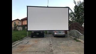 проекционный экран Projecta Fast-Fold 4:3 Fast-Fold 244x183