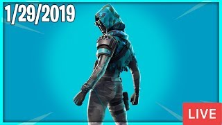 🔴 NOUVEAU ITEM SHOP COUNTDOWN ( 29 janvier New Skins Quotidienne Fortnite Item Shop 🔴