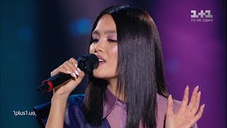"Indira Edilbaeva - ""Melodia"" - Blind Audition - The Voice Ukraine Season 10"